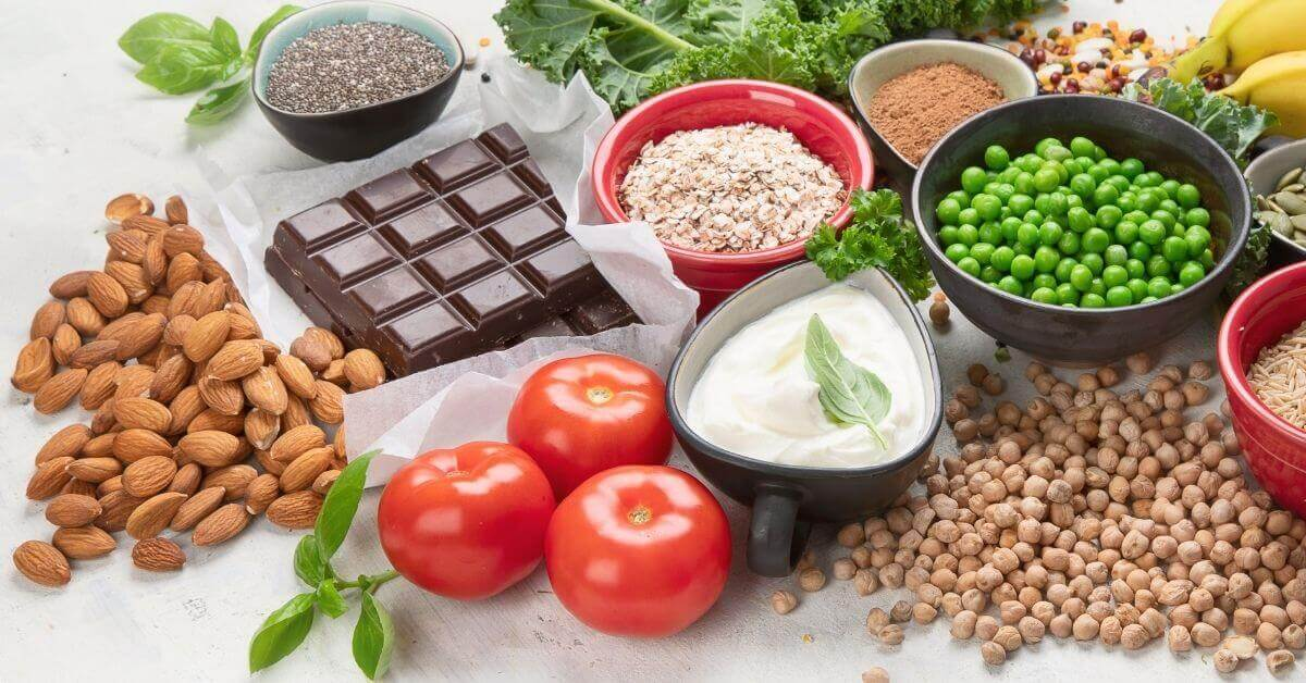 foods rich in manganese