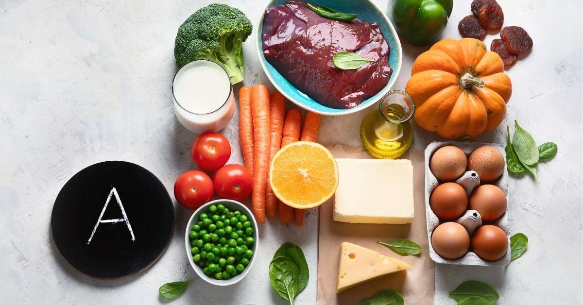 Products with Vitamin a