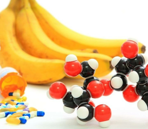 bananas, sucrose pills, and chemical composition of sucrose
